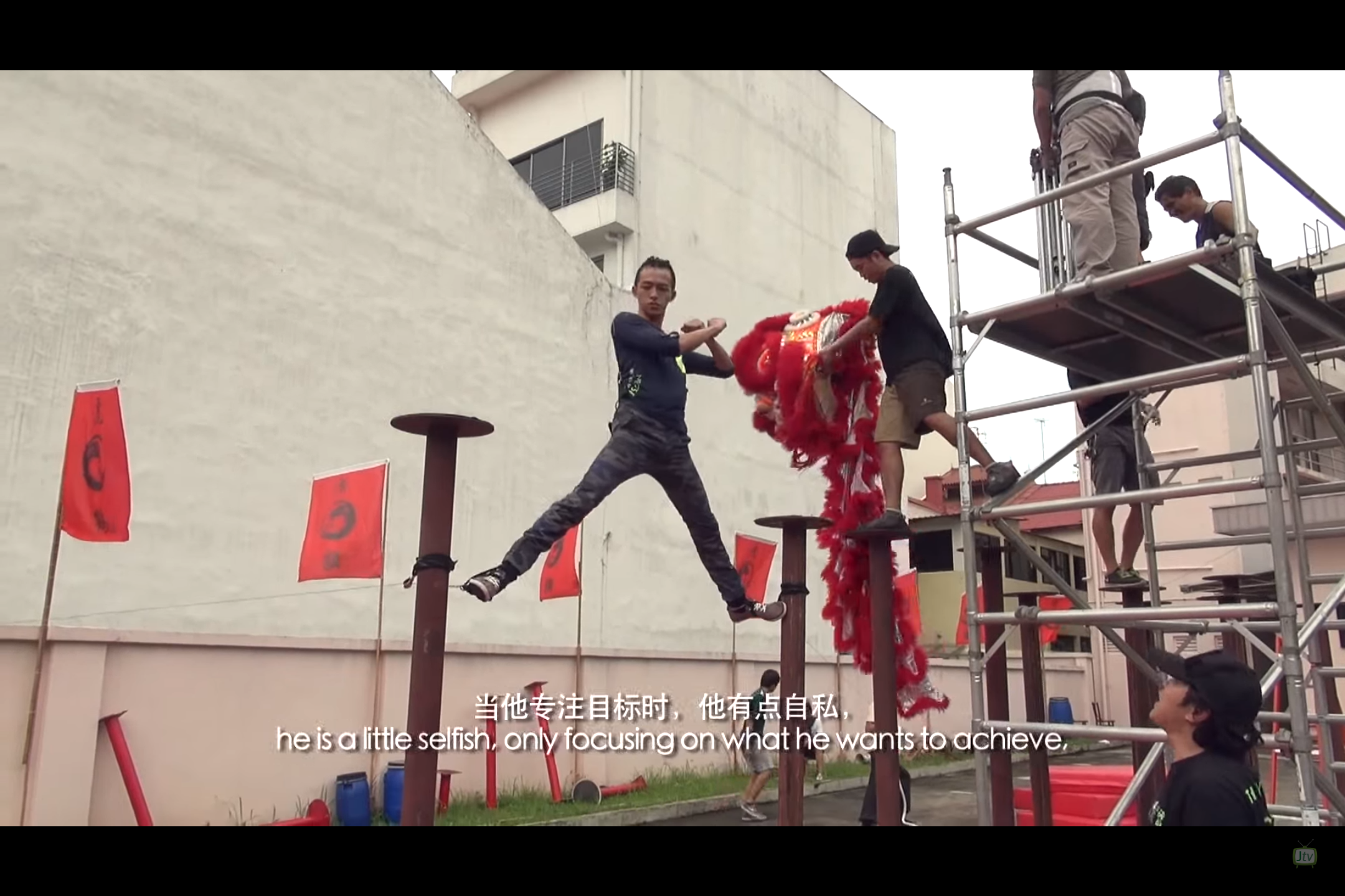 The Lion Men 2: Making Of