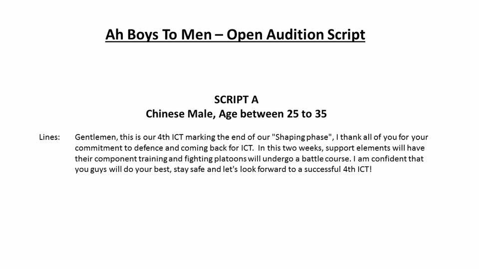 script A